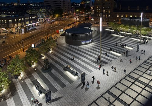 Outdoor Architectural Lighting In Commercial Spaces Kemps