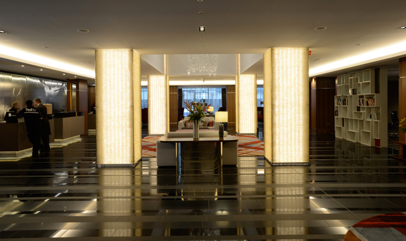 Great lighting design sheraton hotel edinburgh scotland for Design hotel edinburgh